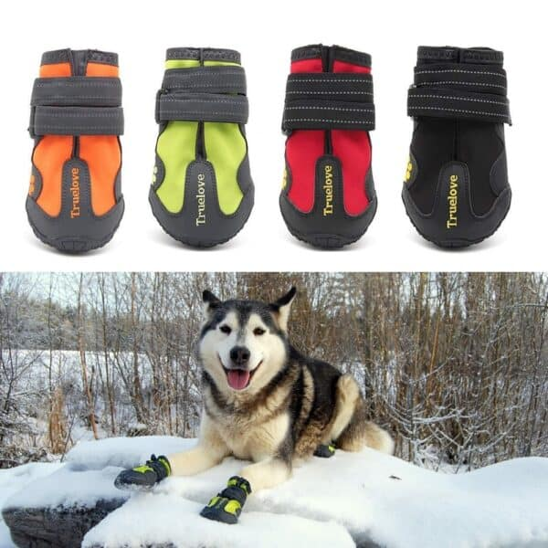 6895-waterproof dog boots 1