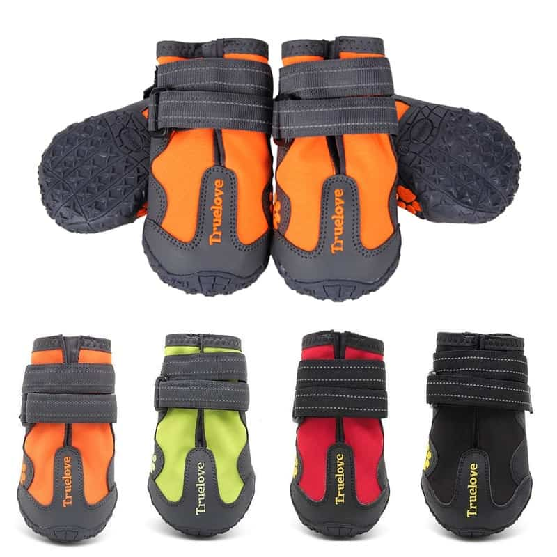 6895-waterproof dog boots 2